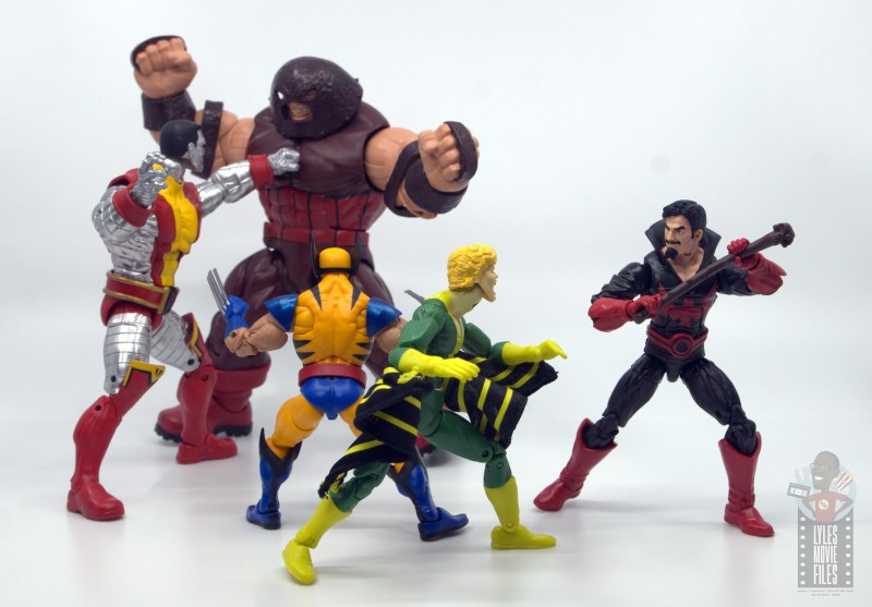 marvel legends black tom cassidy figure review - vs x-men