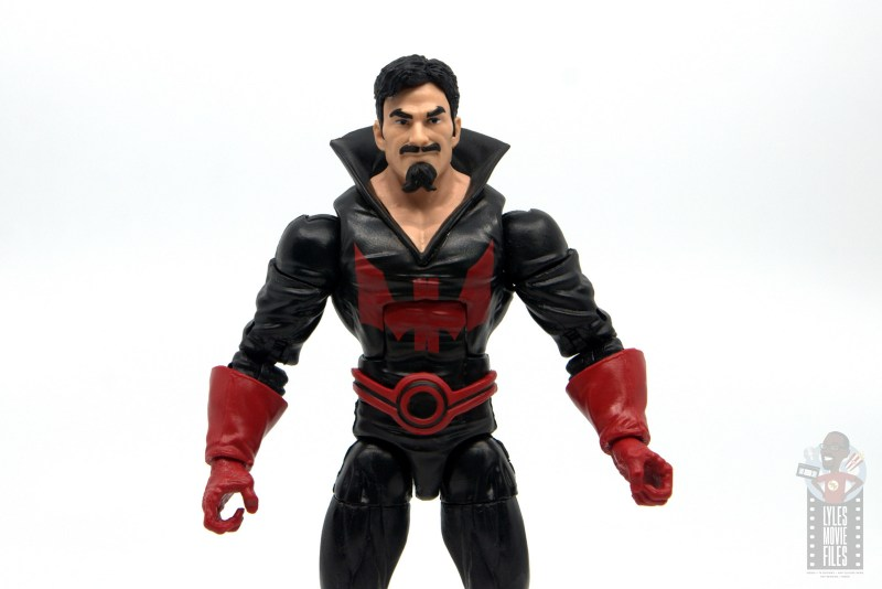 marvel legends black tom cassidy figure review - wide pic