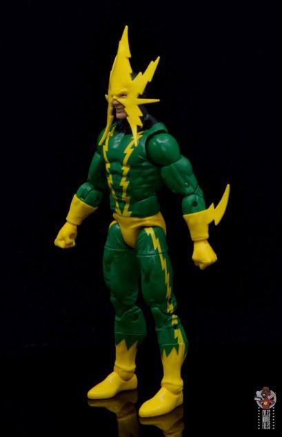 marvel legends electro figure review -left side