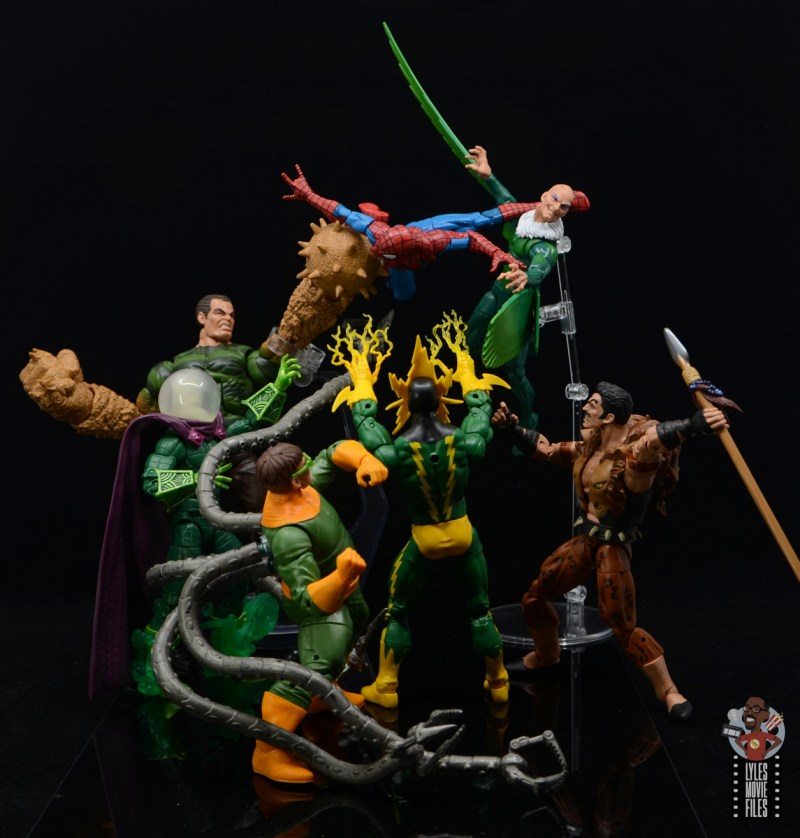 marvel legends electro figure review - spider-man vs the sinister six