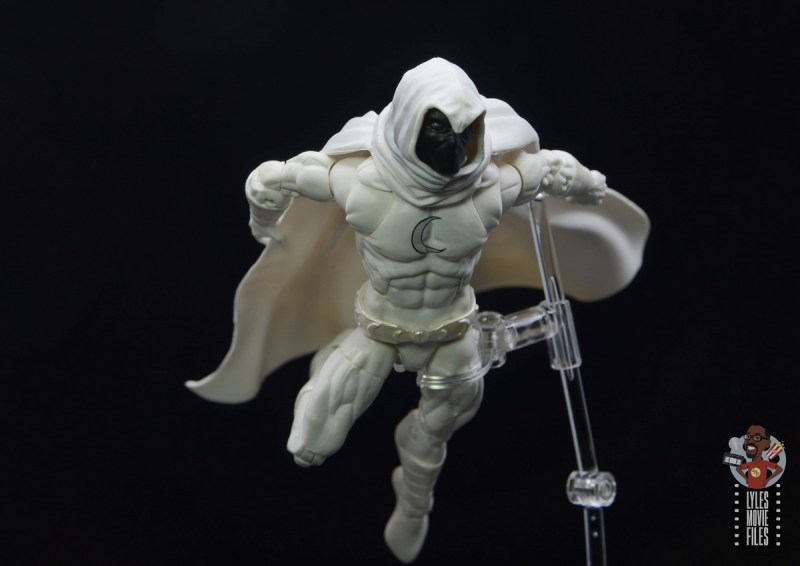 marvel legends moon knight figure review - gliding
