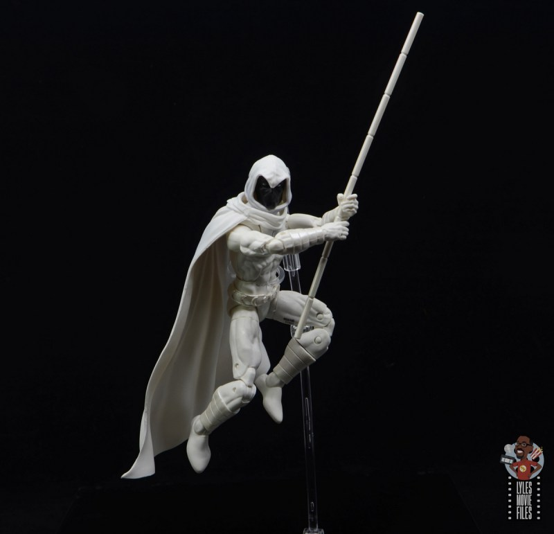 marvel legends moon knight figure review - leaping