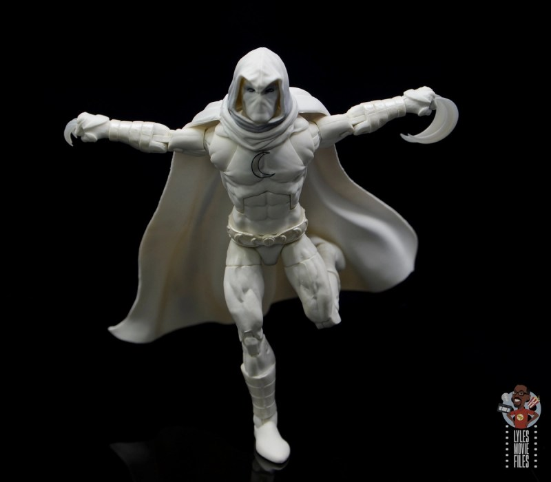 marvel legends moon knight figure review - on the run