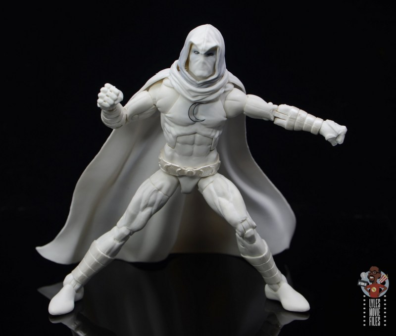 marvel legends moon knight figure review - wide stance