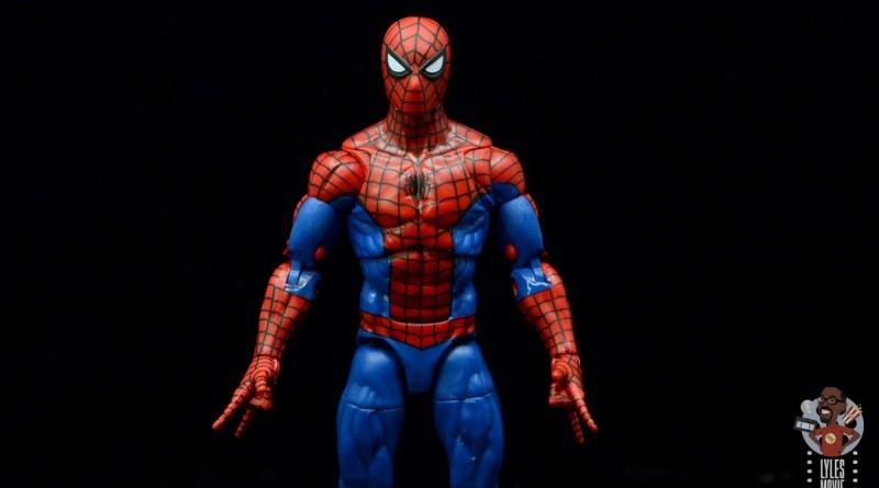 marvel legends retro spider-man figure review -main pic