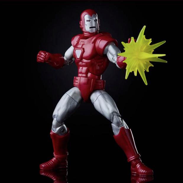 marvel legends silver centurion iron man single repulsor