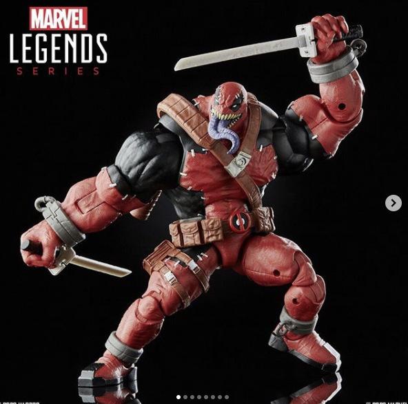 marvel legends venompool build a figure