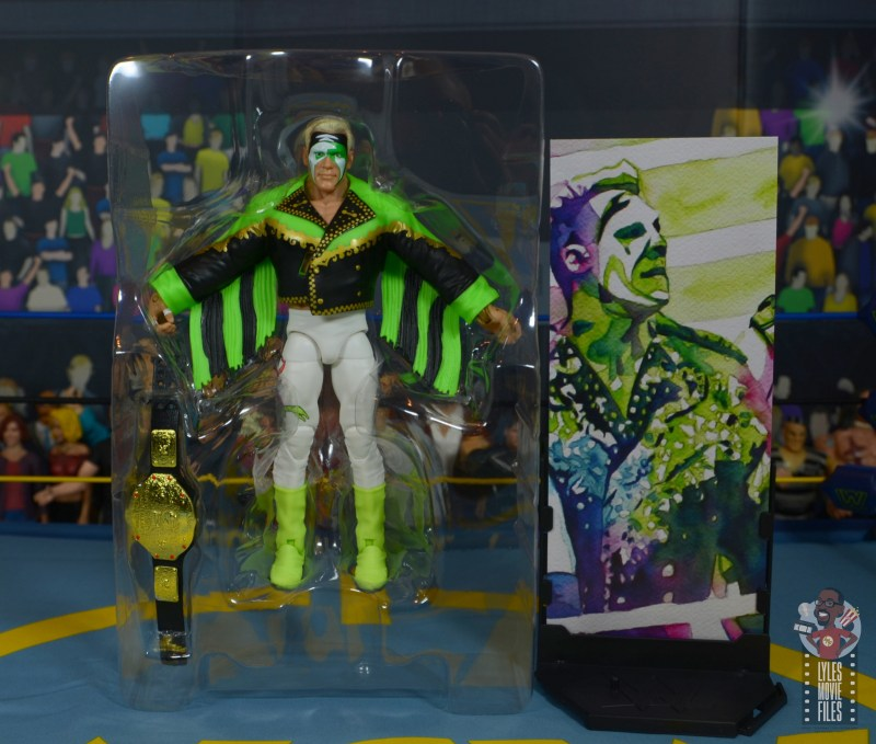 wwe elite 62 sting figure review - accessories