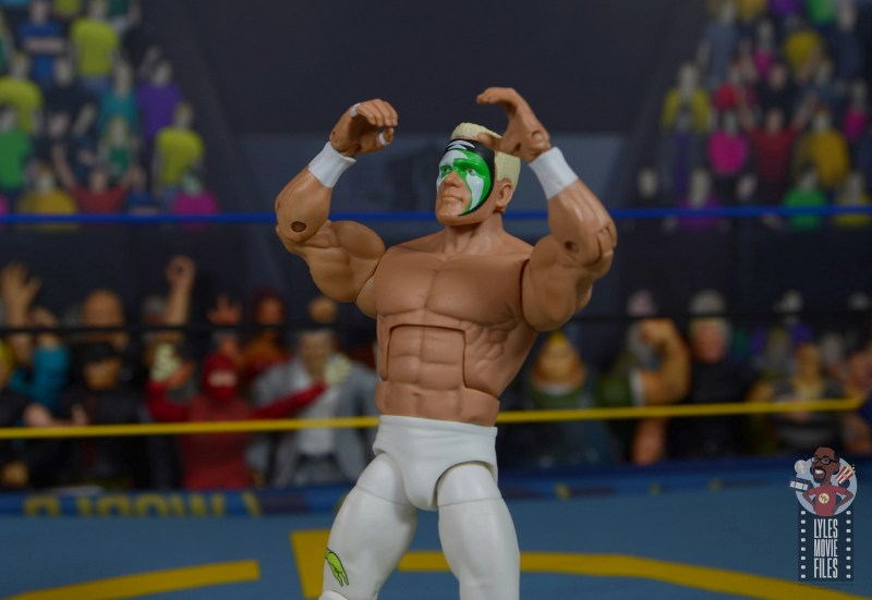 wwe elite 62 sting figure review - howling