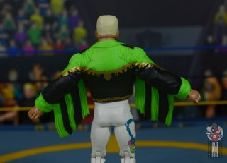 wwe elite 62 sting figure review - jacket rear