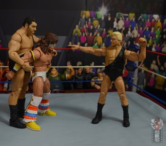 wwe legends 7 bobby the brain heenan figure review -about to punch ultimate warrior