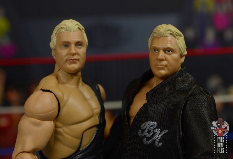wwe legends 7 bobby the brain heenan figure review - face print difference