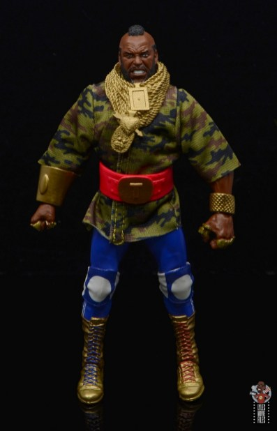 wwe sdcc elite mr. t figure review - ring gear front