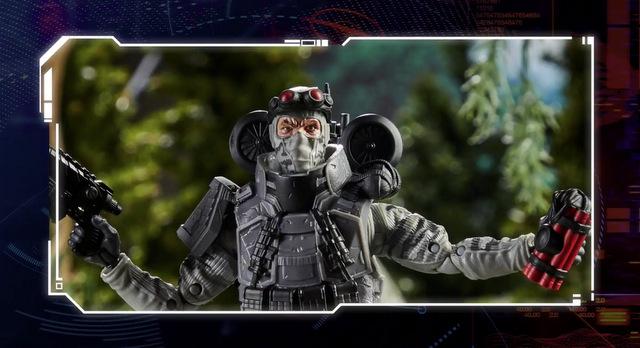 Hasbro PulseCon 2020 – gi joe classified series - firefly close up
