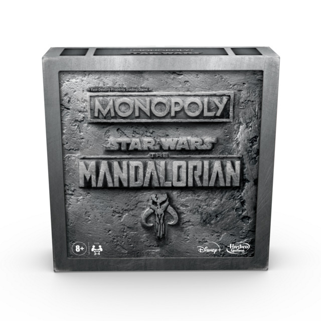 MONOPOLY STAR WARS THE MANDALORIAN Edition in pck 3