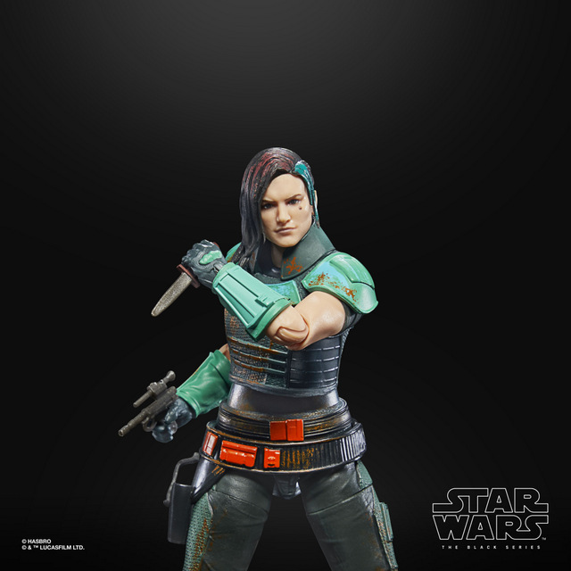 STAR WARS THE BLACK SERIES CREDIT COLLECTION 6-INCH CARA DUNE Figure - oop 7