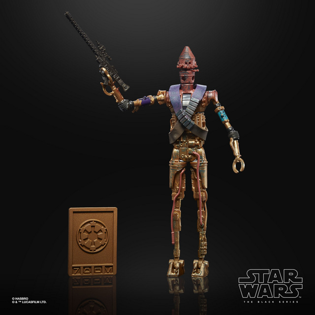 STAR WARS THE BLACK SERIES CREDIT COLLECTION 6-INCH IG-11 Figure - oop