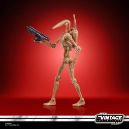 STAR WARS THE VINTAGE COLLECTION 3.75-INCH BATTLE DROID Figure - oop (3)