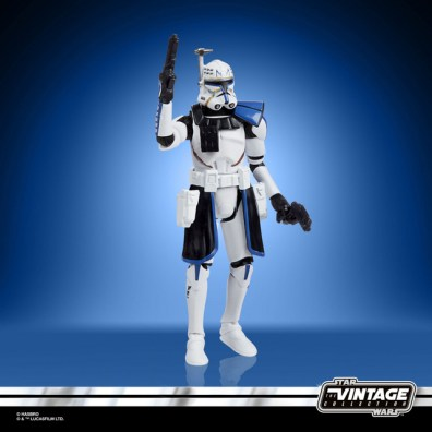 STAR WARS THE VINTAGE COLLECTION 3.75-INCH CAPTAIN REX Figure - oop (2)