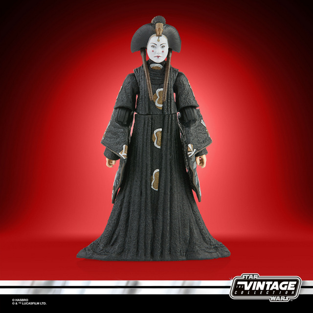 STAR WARS THE VINTAGE COLLECTION 3.75-INCH QUEEN AMIDALA Figure - oop (1)