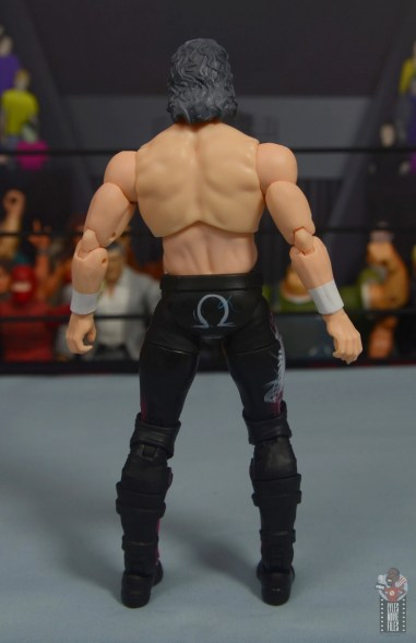 aew unrivaled kenny omega figure review - rear