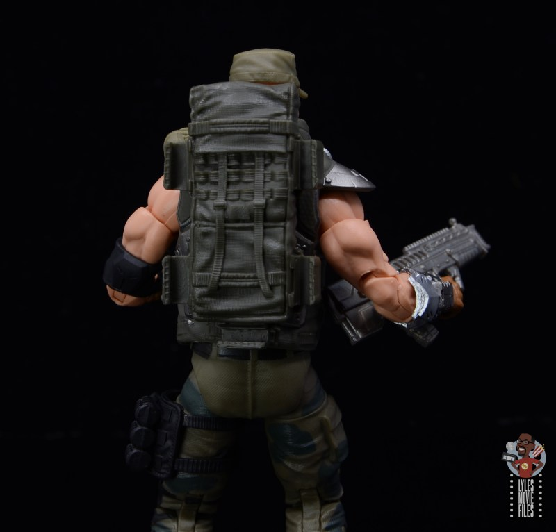 g.i. joe classified series gung-ho figure review -backpack detail