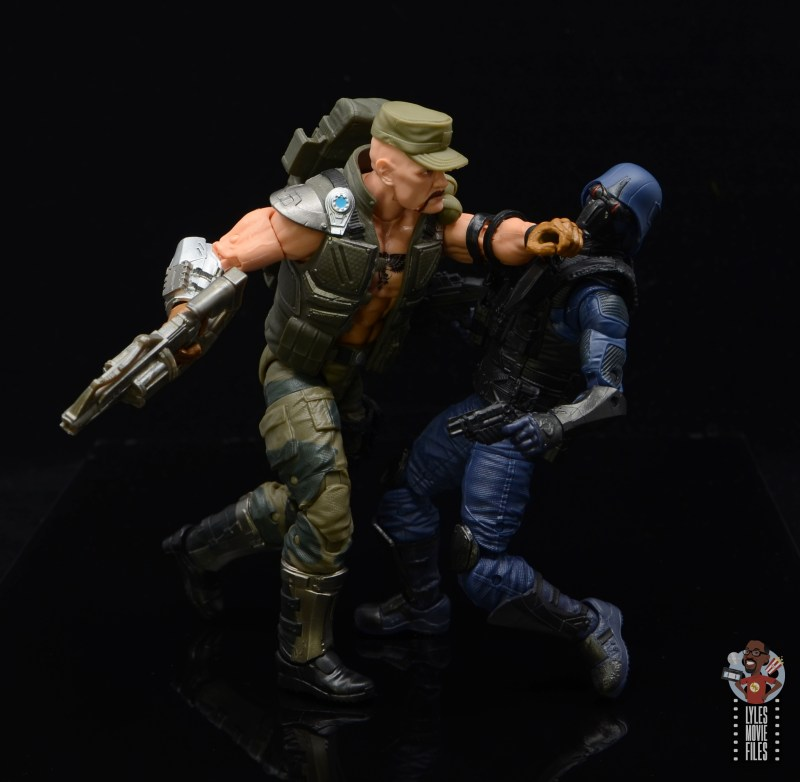 g.i. joe classified series gung-ho figure review - punching cobra trooper