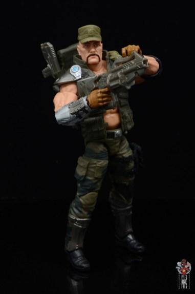 g.i. joe classified series gung-ho figure review - raising grenade launcher