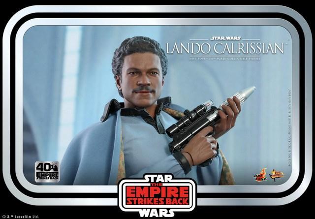 hot toys empire strikes back lando calrissian figure -main pic