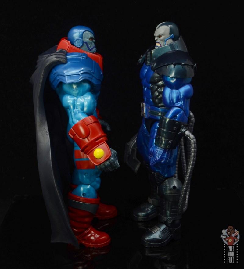 marvel legends apocaylpse - apocalypse figure review - facing baf apocalypse