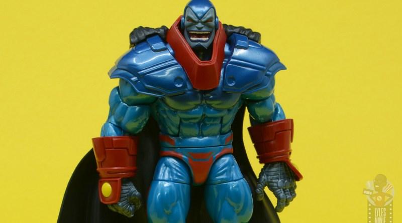 marvel legends apocaylpse - apocalypse figure review - wide shot