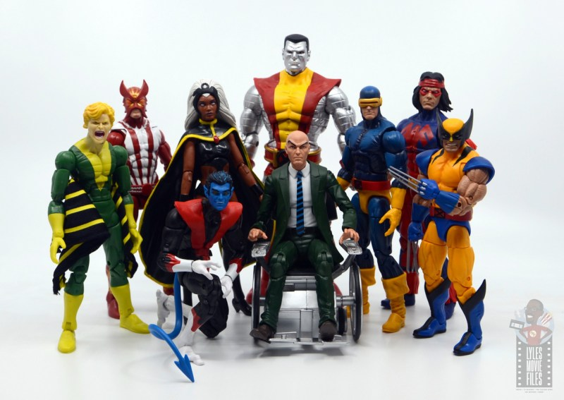 marvel legends storm and thunderbird figure review - all-new all different x-men