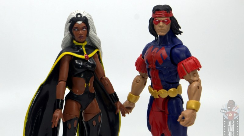 marvel legends storm and thunderbird figure review - storm and thunderbird main pic