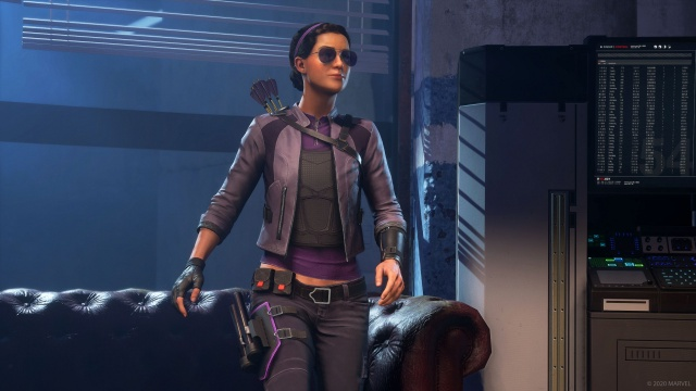 marvel's the avengers - kate bishop walking
