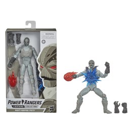 power rangers lighting collection z putty figure - packaged and out