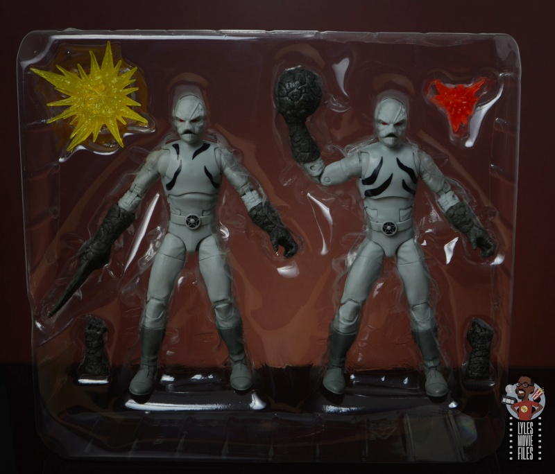 power rangers lightning collection putty patrols figure review - figures in tray