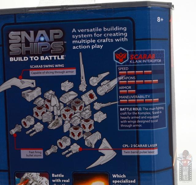 snap ships klaw interceptor review - bio