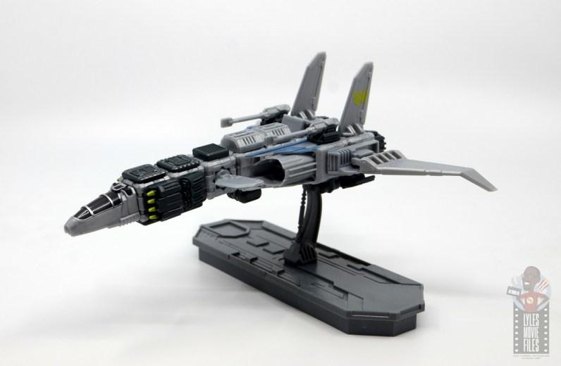 snap ships sabre x-23 light bomber review - left side