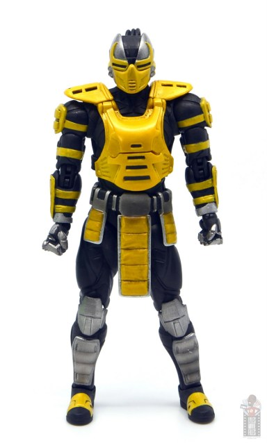 storm collectibles mortal kombat cyrax figure review - front