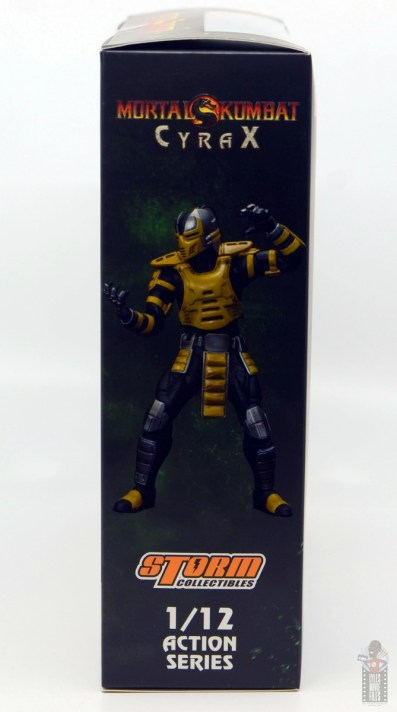 storm collectibles mortal kombat cyrax figure review - package side