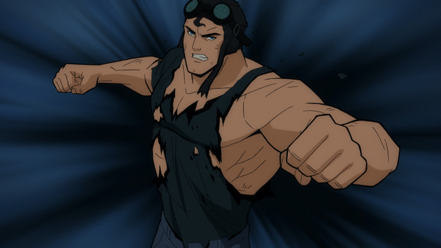 superman man of tomorrow -clark flying