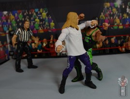 wwe elite brood christian figure review - back elbow to x-pac
