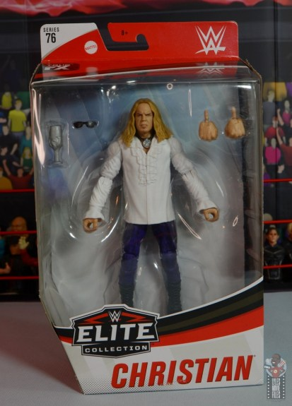 wwe elite brood christian figure review - package front