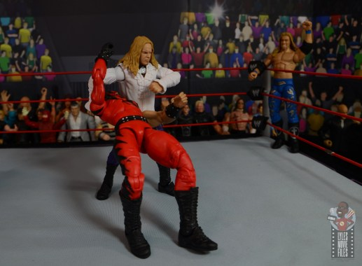 wwe elite brood christian figure review - reverse ddt to kane