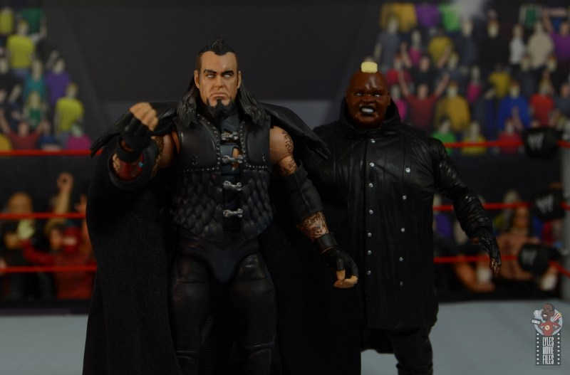 wwe elite series 77 viscera figure review - with sdcc undertaker