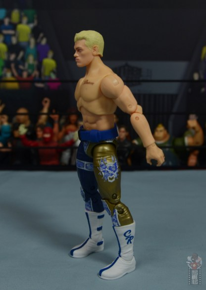 aew unrivaled cody figure review - left side