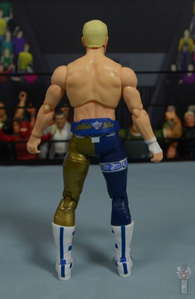 aew unrivaled cody figure review - rear