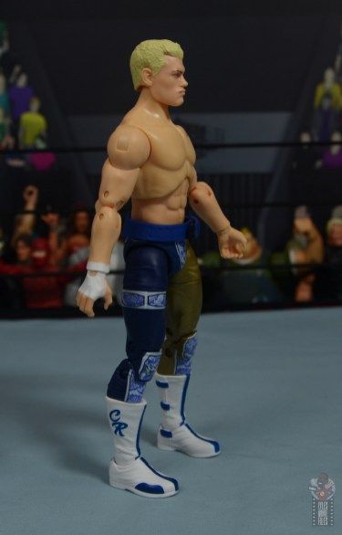 aew unrivaled cody figure review - right side