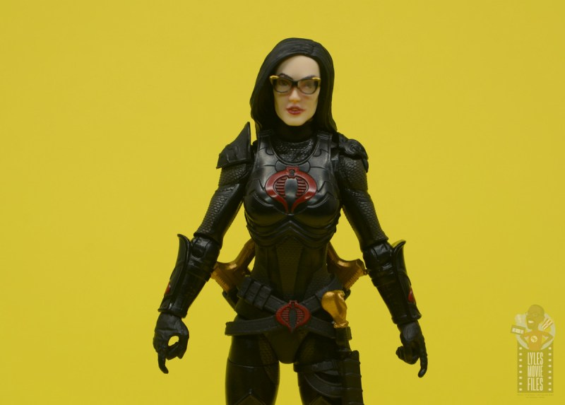 g.i. joe classified series baroness and cobra coil figure review - baroness close up
