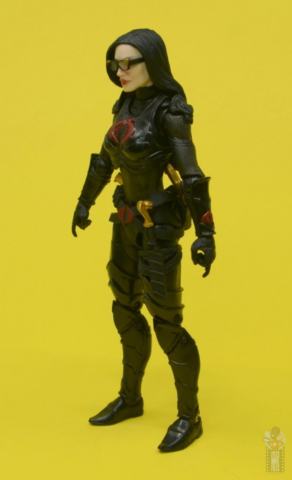 g.i. joe classified series baroness and cobra coil figure review -baroness left side